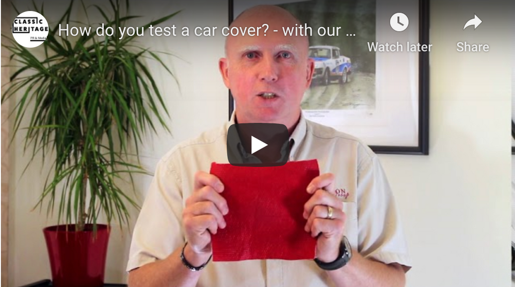 How to test a car cover's quality