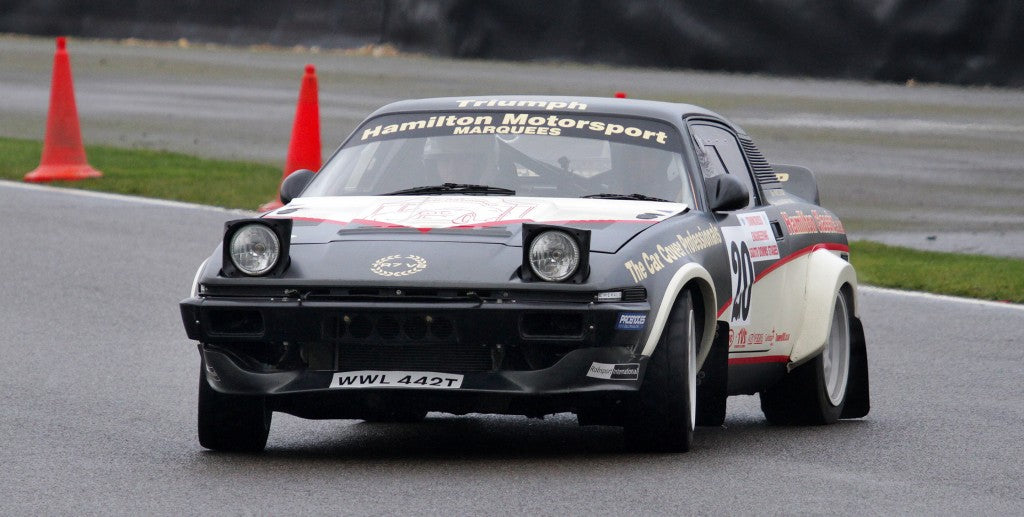 Triumph TR7 V8 braves the chill on the South Downs Stages Rally, Goodwood
