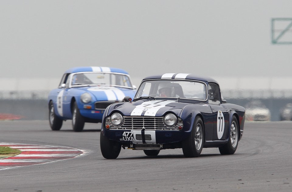 Sensational racing in the Equipe GTS at MG LIVE! Silverstone.