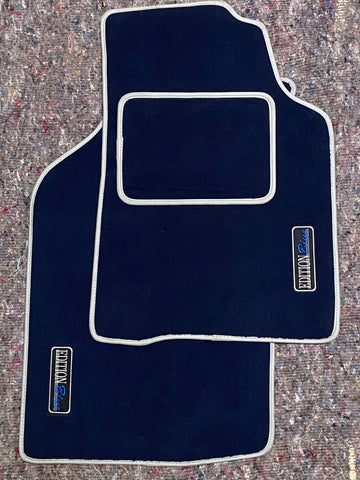 VW Golf Blue Edition Mats