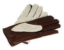 Classic Deluxe String Back Driving Glove