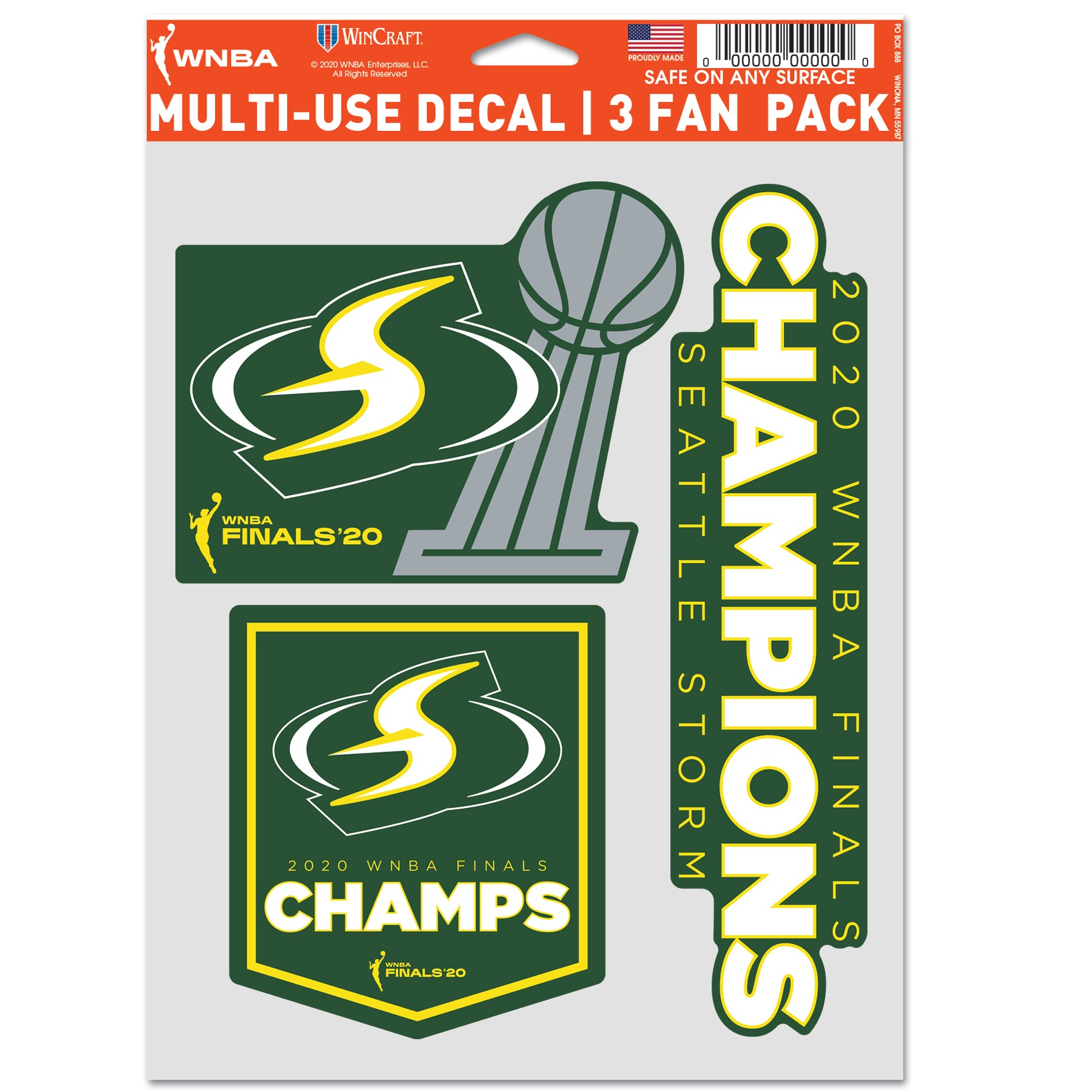 2020 Champs Decals Fan Pack