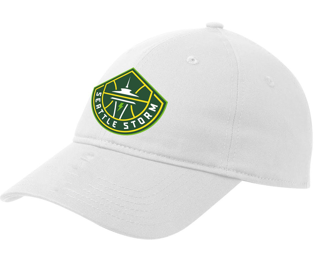 Global White Crew Cap