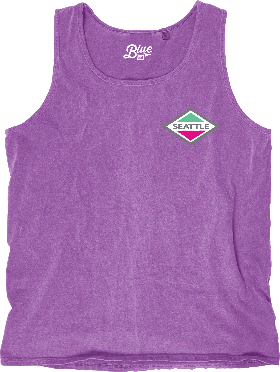 Purple Rhombus Tank