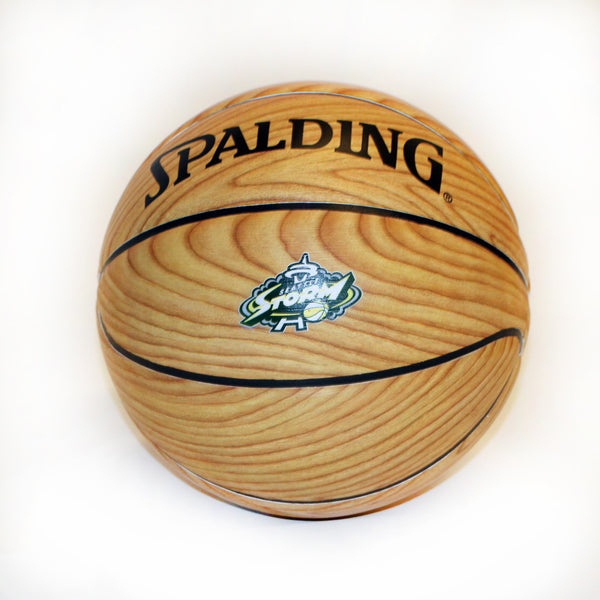 Woodgrain Basketball
