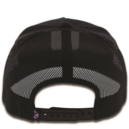 Cheyenne Hooey black / black mesh 6-panel trucker with patch -1844T-BK
