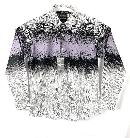Barabas Mens Faded Long sleeve Casual Shirt