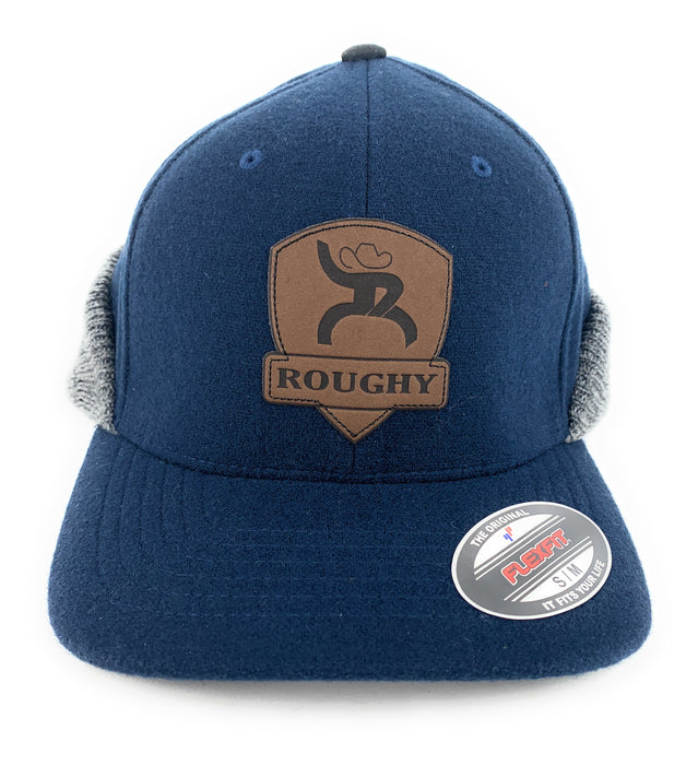 "Hooey ""Out Cold"" Roughy Navy/Grey Ear Flap Cap Small/Medium"