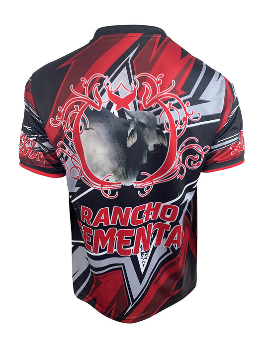 Camiseta Rancho Semental En MultiColor