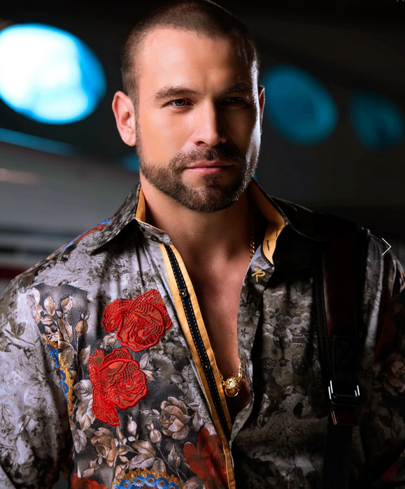 Rafael Amaya Luxury Collection Shirt ARRE CORAZON Style 203CA01