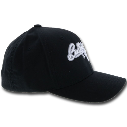 "HOOEY ""BULLFIGHTERS ONLY"" FLEXFIT CAP IN BLACK"