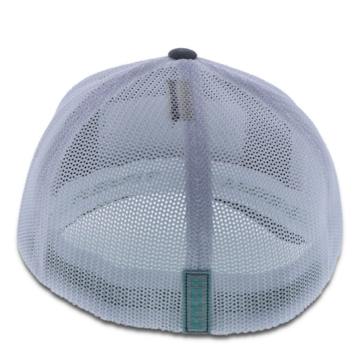 Cactus Ropes Grey/White mesh 5-panel with patch Hat