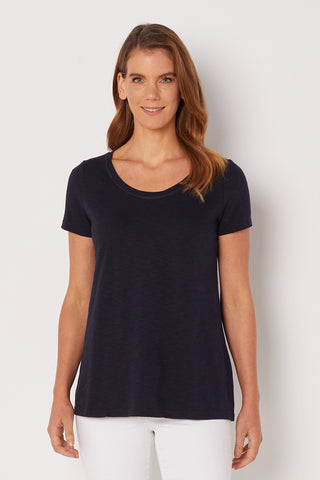 Ink Scoop Neck Tee