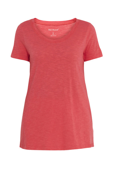 Watermelon Scoop Neck Tee