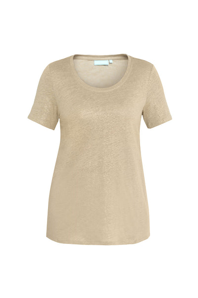 Gold Metallic Tee