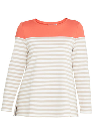 Spliced Stripe Shirt