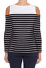 Cut-Out Breton Tee
