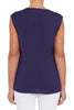 Sleeveless Threadwork Top