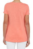 Pink Sky Scoop Neck Tee