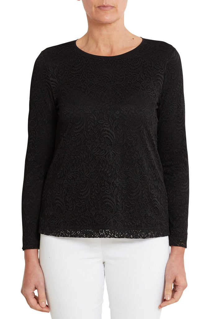 Black Day Lace Top