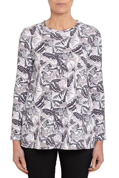Long Sleeve Butterfly Tee