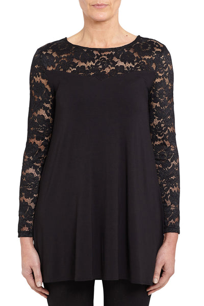 Lace Spliced Top