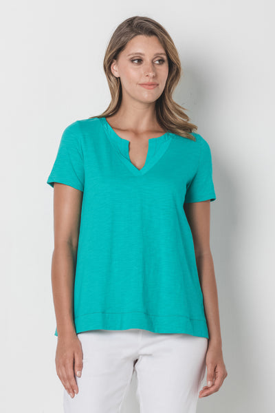 Pleat Detail Tee