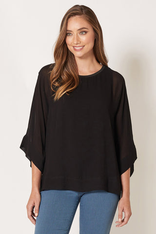 Layered Sheer Top