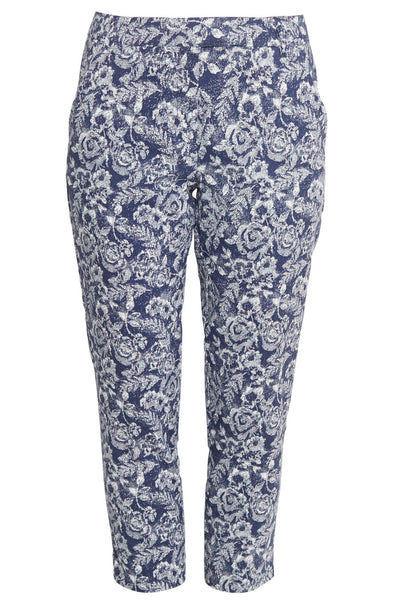 Printed Tapered Pants