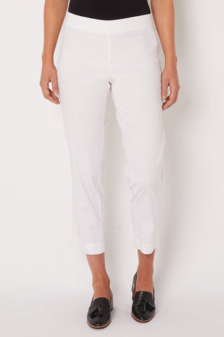 White Tapered Pant