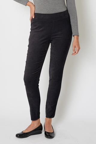 Cut Cord Pant with Trim