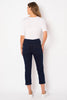 Clean Denim Blue Cropped Denim Bengajean