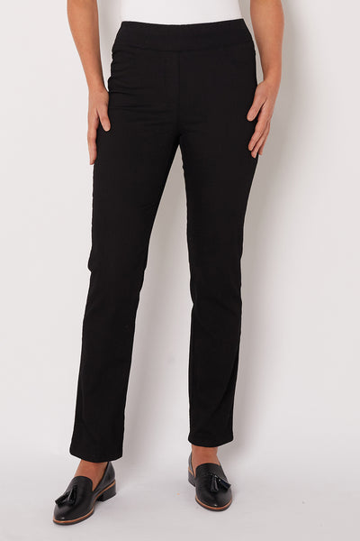 Black Straight Leg Bengajeans