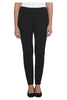 Black Long Skinny Ponti Pants