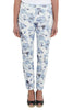 Long Blue Floral Bengajeans