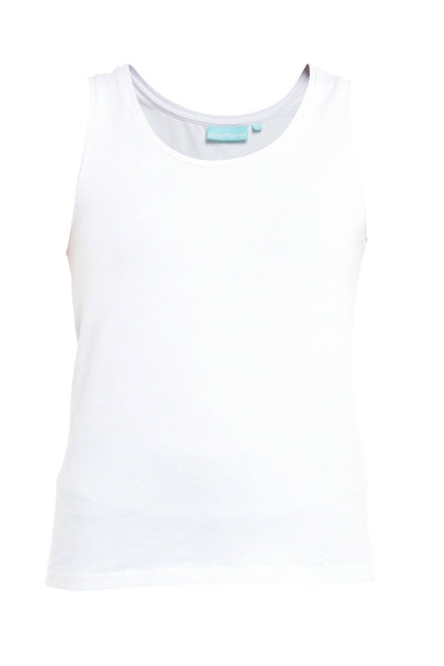 White Scoop Neck Cami
