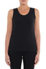 Black Scoop Neck Cami