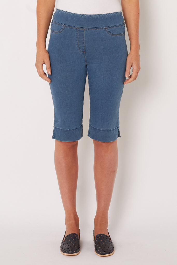 Light Denim Bengajean Short