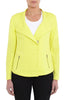 Soft Casual Jacket Chartreuse