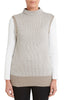 Cotton Cashmere Side Split Vest