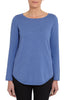 Bluebell Scoop Hem Knit