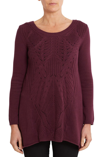 Trapeze Cable Knit