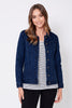 Cashmere Finish Denim Jacket