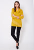 Frill Roll Neck Knit