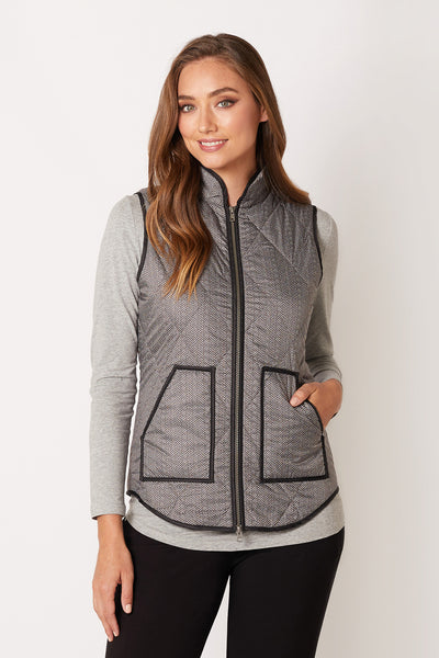 Quilted Leisure Vest