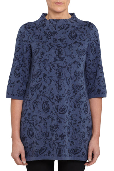 Jacquard Knit Tunic