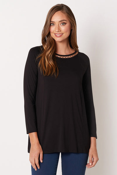 Metal Trim Tunic