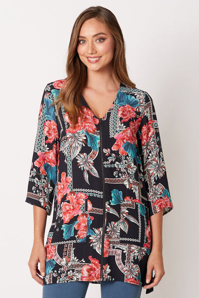 Printed Pocket Tunic