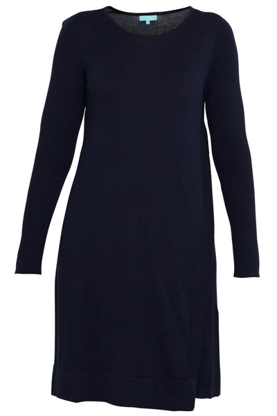 Ink Merino Wool Knitted Dress