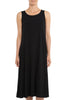 Black Long Midi Dress